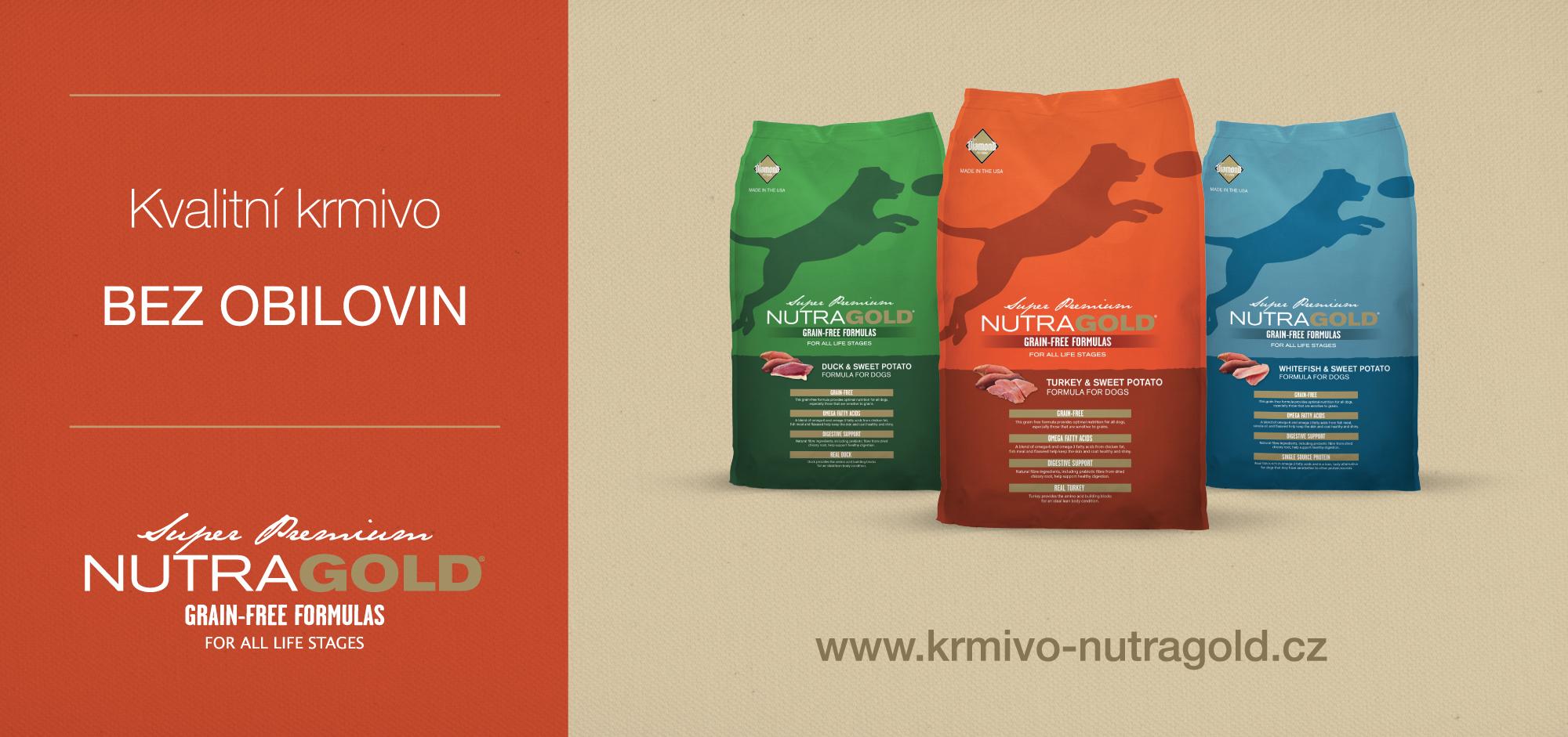Nutra Gold - Superprémiové americké krmivo pro psy